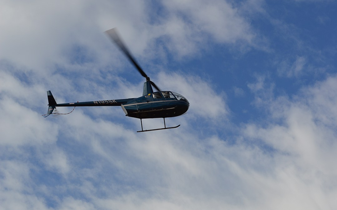 First Annual Carrboro, NC, ARCHway Helicopter Golf Ball Drop a Huge Success