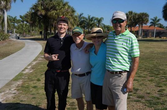 2017 ARCHway March 18th Golf -Danny _ Rich O'Brien and Dana _ Brian Flannery