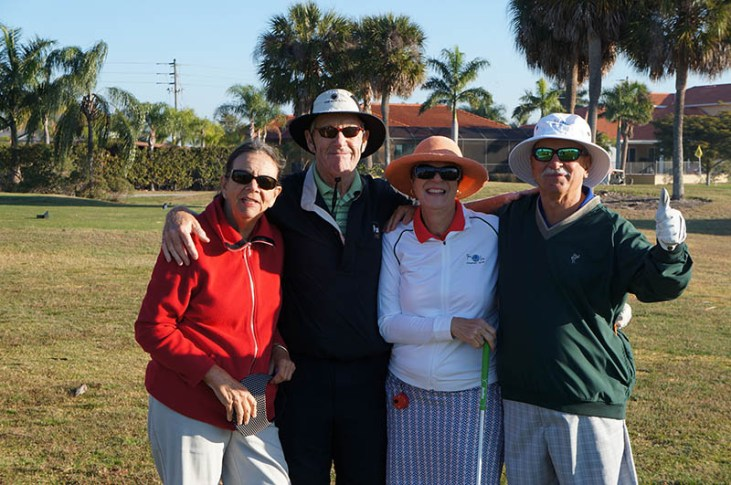 2017 ARCHway March 18th Golf - Kate _ Ed Curley - Di Kandis - Harry Heiges