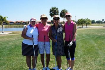 2017 ARCHway March 18th Golf -Kit Gilbert-Deb Higgins-Connie Eldridge-Lori Harrigan