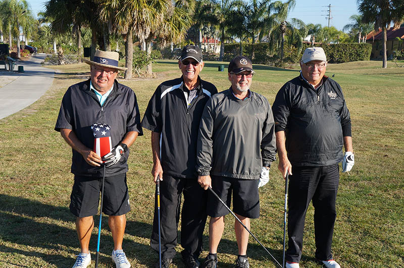 2017 ARCHway March 18th Golf - Tom Flak-GaryStevers-Dean Miller-Ron Brown