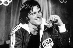 1976 Olympic Games, Montreal, Canada, Men's Decathlon, USA's gold medal winner Bruce Jenner (Photo by Popperfoto/Getty Images)