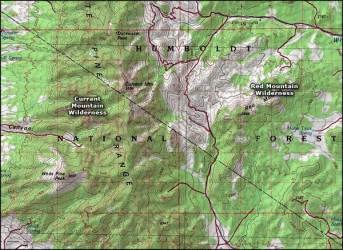 wilderness mountain nevada national map maps areas trails