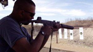 range bullet hole