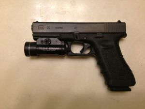 glock 22 light