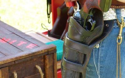 Photo Friday: Cowboy Action Shooting Gear - Ruger Vaquero - TheArmsGuide.com