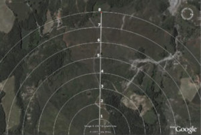 Range estimation range card