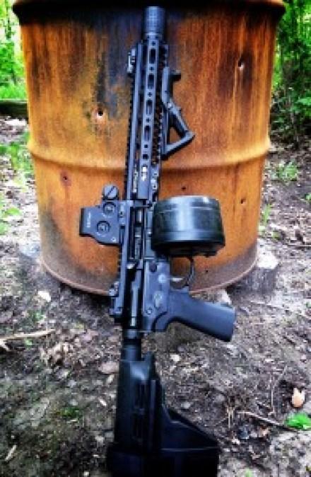 """10.5"""" AR-15 Pistol - thearmsguide.com"""