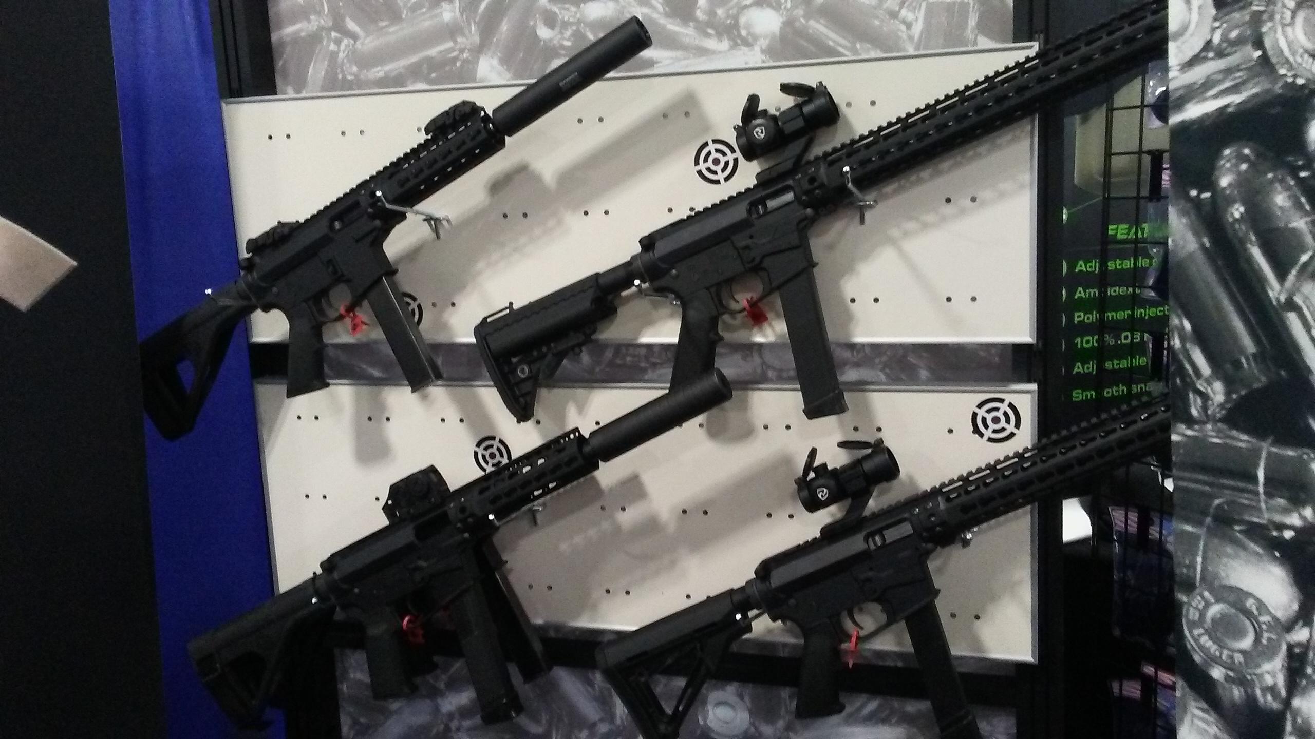 MP5 AR 15