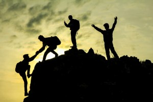 inspirational motivation helps people to reach the summit