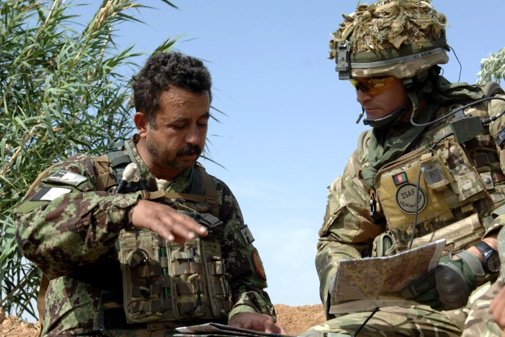 A British Army Field Officer delivering organisational and team leadership - Field Officer Leadership