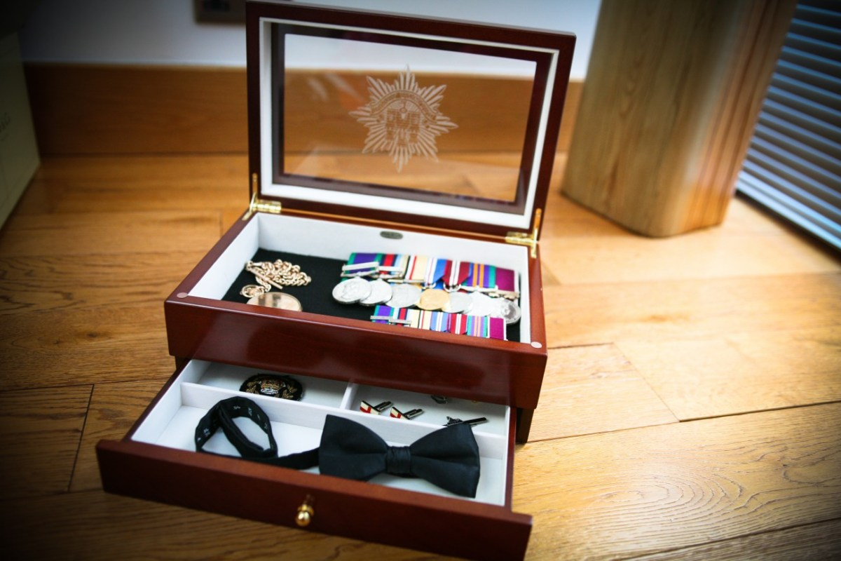 A Medal Box - ideal father's day gifts for soldiers