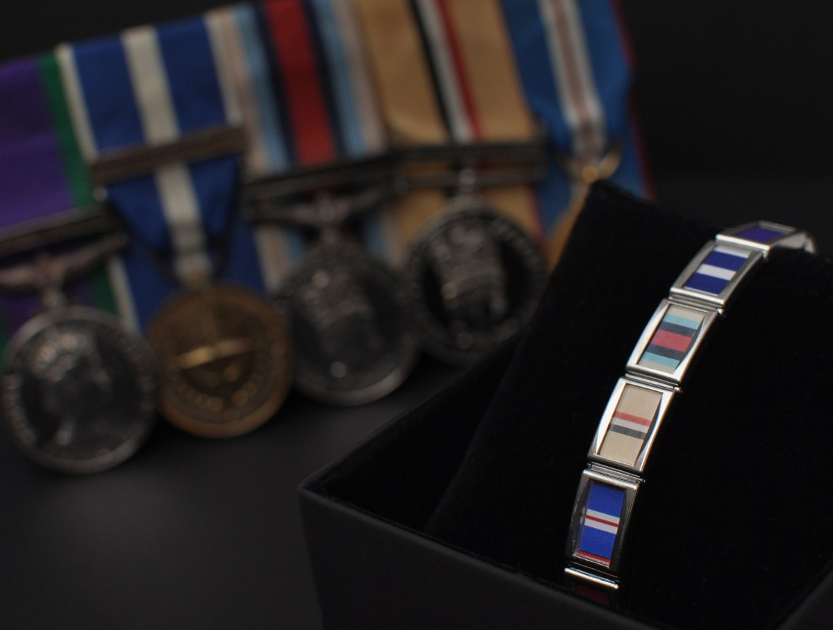 The Valour Band - ideal father's day gifts for soldiers