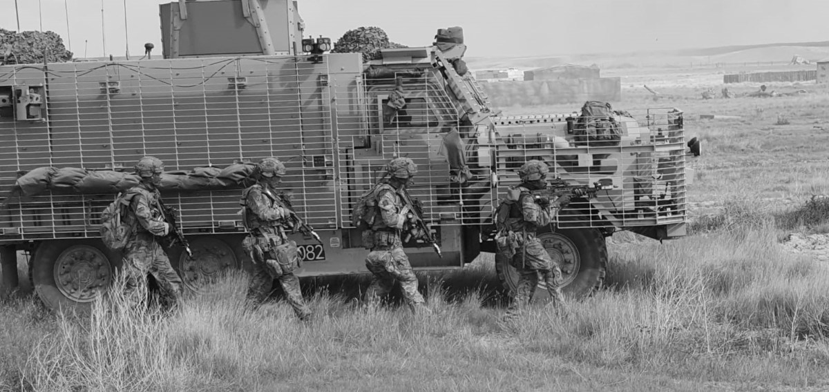 Reflections on Company Command. 3 SCOTS in BATUS