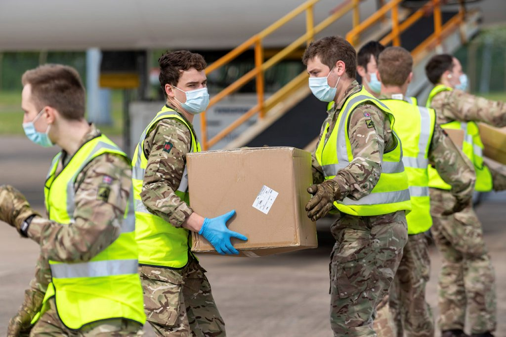 Leading through crisis and crisis leadership - a soldier helps COVID response