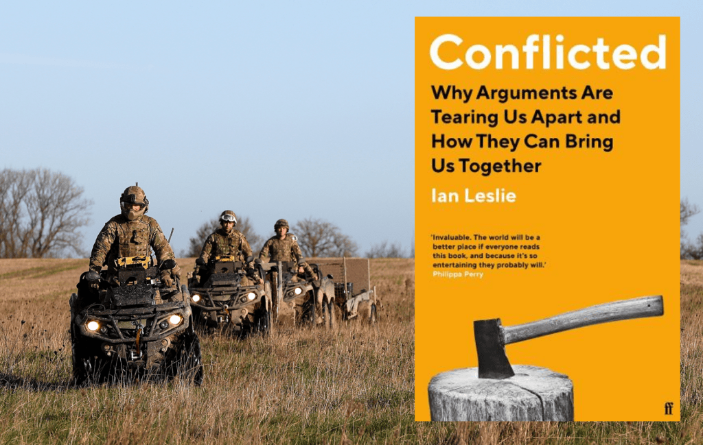 Conflicted: Why Arguing is the Right Thing to do. Why arguments are tearing us apart and how they can bring us together.