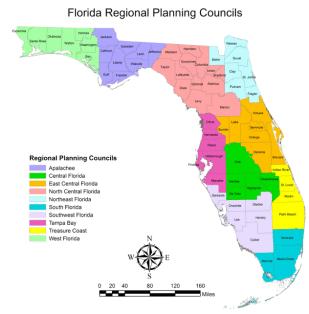 Florida RPC Map