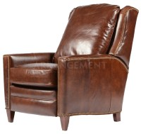 Irving Leather Recliner | Rustic Western Furniture Store