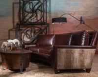 Shop the Look: Unique Living Room | Rustic Western ...