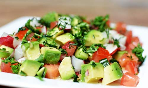 Avocado + Tomato Salad