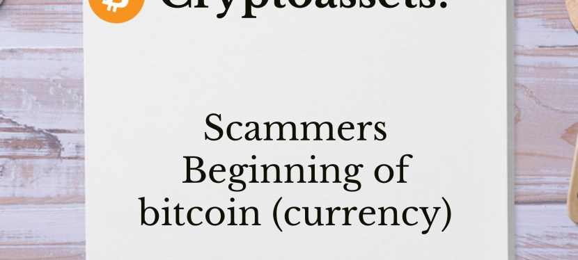 Cryptoassets: Season 3 – Episode 4 – Scammers on Apple's App Store & The Beginning of bitcoin