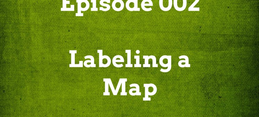 IELTS Listening: Episode 002 – Labeling a Map