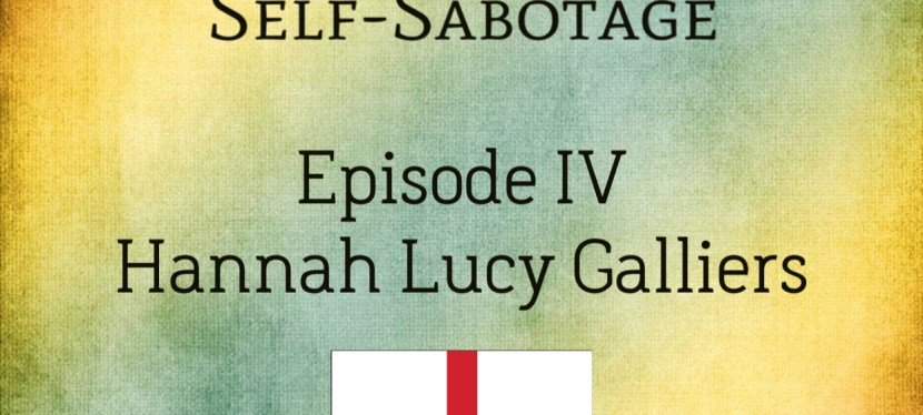 Arsenio's ESL Podcast: International Guest Speaker – Hannah of England (Self-Sabotage Series)