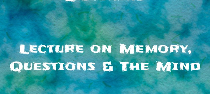 ARSENIO'S ESL PODCAST   SEASON 5 EPISODE 115   Listening   Lecture on memory, questions & the mind