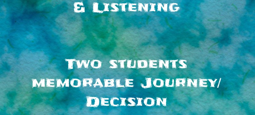 ARSENIO'S ESL PODCAST | SEASON 5 EPISODE 110 | Developing Speaking/Listening | Two Students — Memorable Journey/Decision