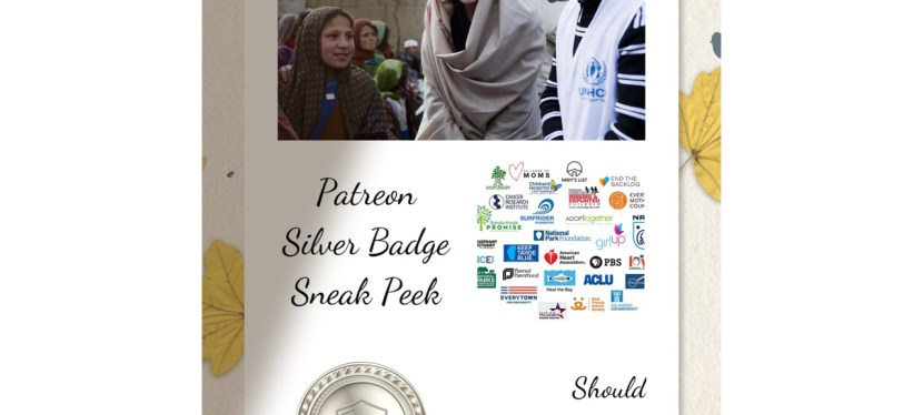 Patreon Silver Badge Special | Reading | Should Celebrities Promote Charities?