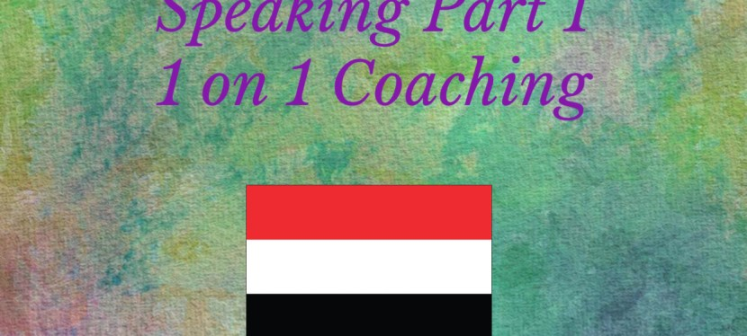 IELTS | Speaking | 1 on 1 Coaching | Speaking Part 1 – Frequently Asked Questions