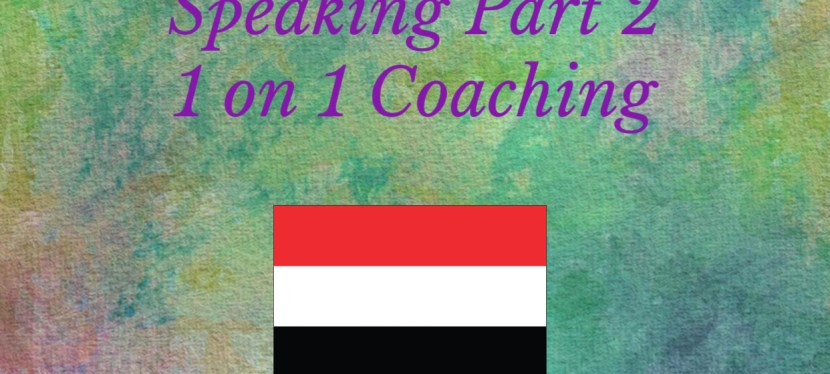 IELTS | Speaking | 1 on 1 Coaching | Speaking Part 2 – A Website You Have Bought Something From