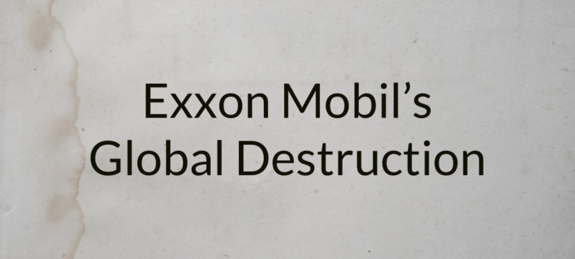 Arsenio's ESL Podcast | Real Discussions | Exxon Mobil's Global Destruction