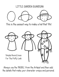 How To Teach a 5 to 10 Year Old To Draw a Person