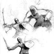 "Alex Pederson, Age 17, ""Thumbnail Sketches 2"""