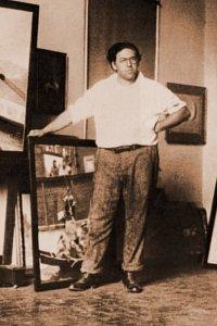 NC Wyeth at home