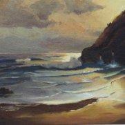 State Fair Blue Ribbon! Matt Walsh, Age 15, Oil on Canvas Panel