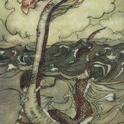 Nancy McCabe, Age 14 Watercolor