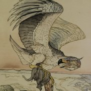 Will Neff, Age 17, Watercolor