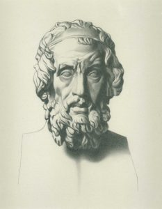 Graphite after Charles Bargue