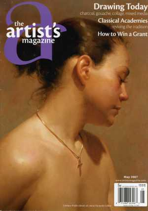Cover of The Artists' Magazine, May 2007