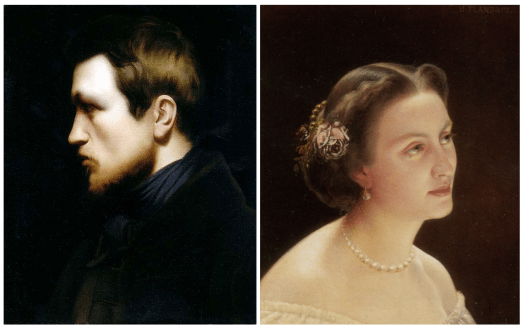 Hippolyte Flandrin Paintings