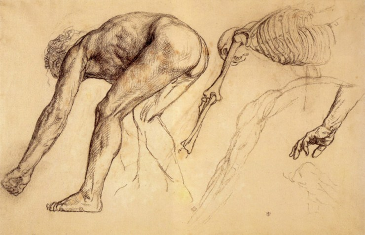 Figure Study by Sir Edward John Poynter