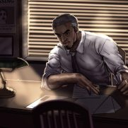 Mick Kaufer, Instructor, Office Work, Digital Painting