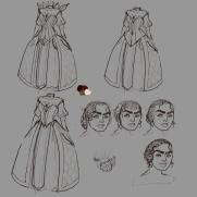 Mick Kaufer, Instructor, Dress Design Stage 2, Digital Costume Drawing