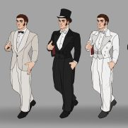 Mick Kaufer, Instructor, 1920s Gentleman, Digital Clothing Design