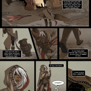 Lilliah Campagna, Instructor, Graphic Novel Page, Digital Color Panel