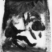 Alex Pederson, Age 17, Ink Wash Notan Study