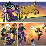 Becky Grutzik, Guest Instructor, Manga Mysteries - The Runaway Puppy Comicbook Page, Digital Art