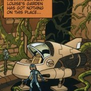 Matt Wendt, Guest Instructor, Twisted Journeys - Escape Alien Incident on Planet J Comicbook Page, Digital Art
